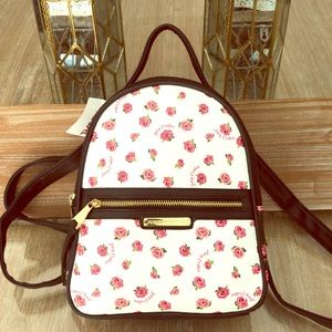 Juicy Couture Mini Floral Backpack retail $89